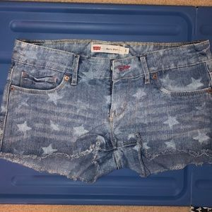 FADED STAR LEVI's DENIM SHORT